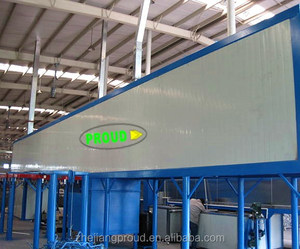 Customized automatic color powder aluminum coating production line