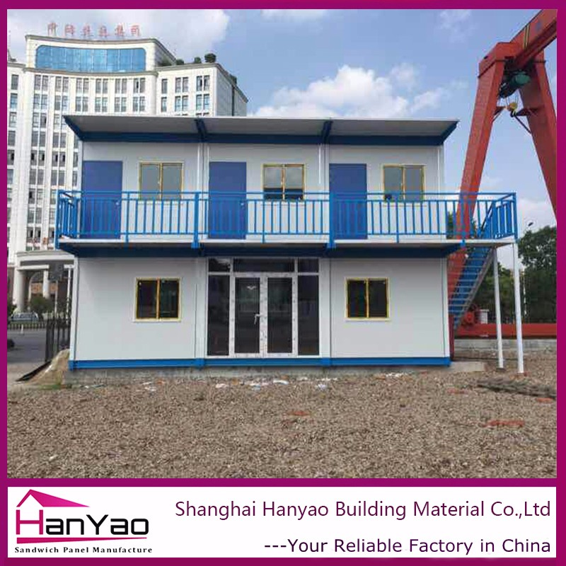 Container House/Sandwich Panel House 20Ft Container House/Pu Pur Pir Sandwich Panel 20Ft Container House