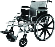 used adjustable steel wheelchair for disabled