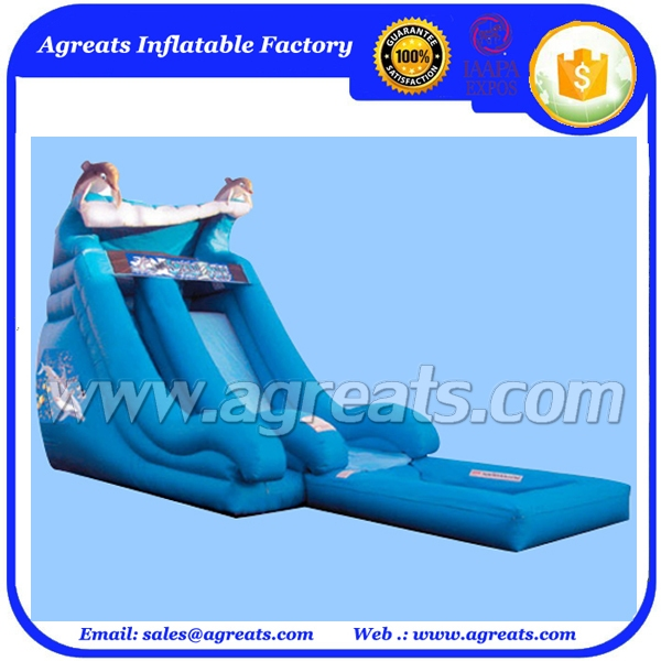 Outdoor commercial PVC material grade adult giant inflatable slide made in China inflatable factory G4093