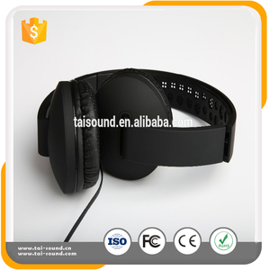High quality rubber material, high quality sound, music monitor headphones