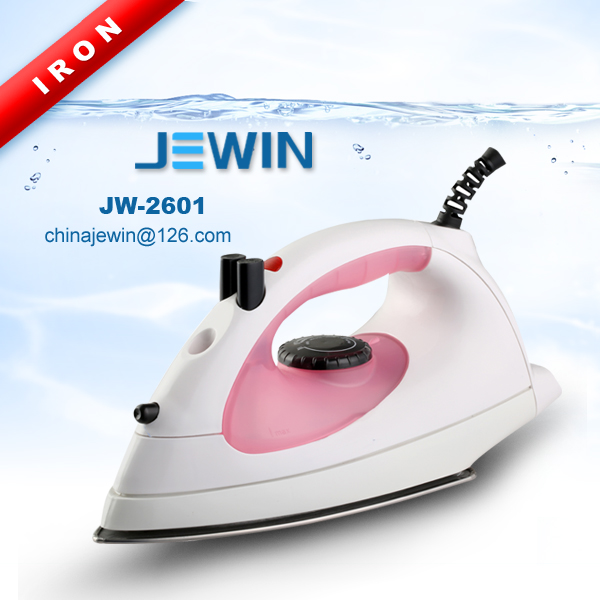 Mini electric iron steam and spray with stainless steel soleplate