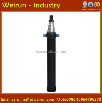 telescopic hydraulic cylinder for dumper truck/garbage truck