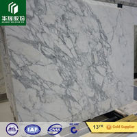 FUJIAN HUAHUI STONE Low price statuario white marble slab first class