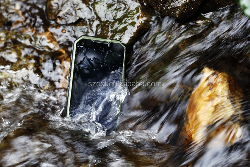 IP68 Waterproof Rugged Cell phone Dual Core WIFI 3G GPS Andriod 4.4 Outdoor Sport Mobile Phone