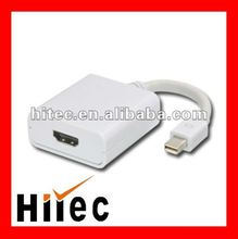 Male to female mini displayport to VGA adapter