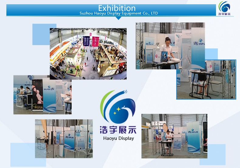 Standard Portable Exhibition and Event Roll Up Banners Stands