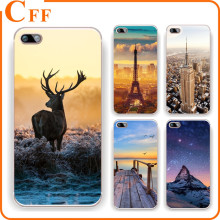 Ultra thin Transparent Soft TPU mobile phone back cover skin Case for iphone 6s 6 i phone 5s 5 Animal Deer painted patterns