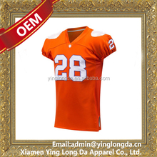 OEM top level Jersey football with player name and number
