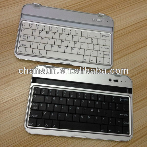 Aluminum bluetooth keyboard for samsung galaxy tab P3100