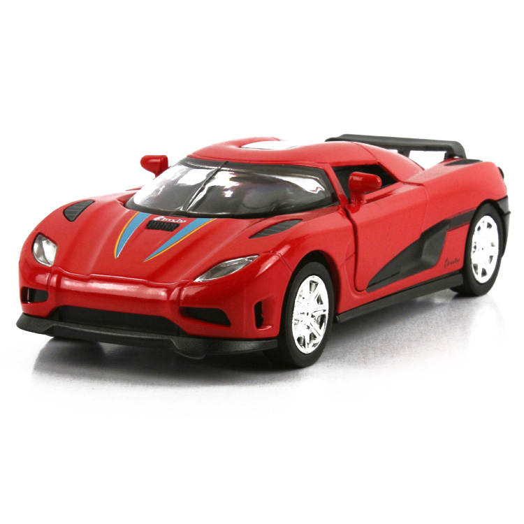 2014 Real Rushed Freeshipping Orange Brinquedo Cars Pixar Carro Super Car Agera Alloy Sports Model Acoustooptical Warrior Toy