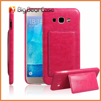 PU leather+ PC flip cover case for samsung galaxy a8