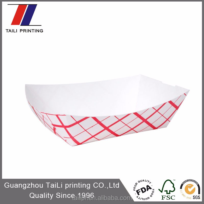 Disposable Food Grade Paper Tray Online