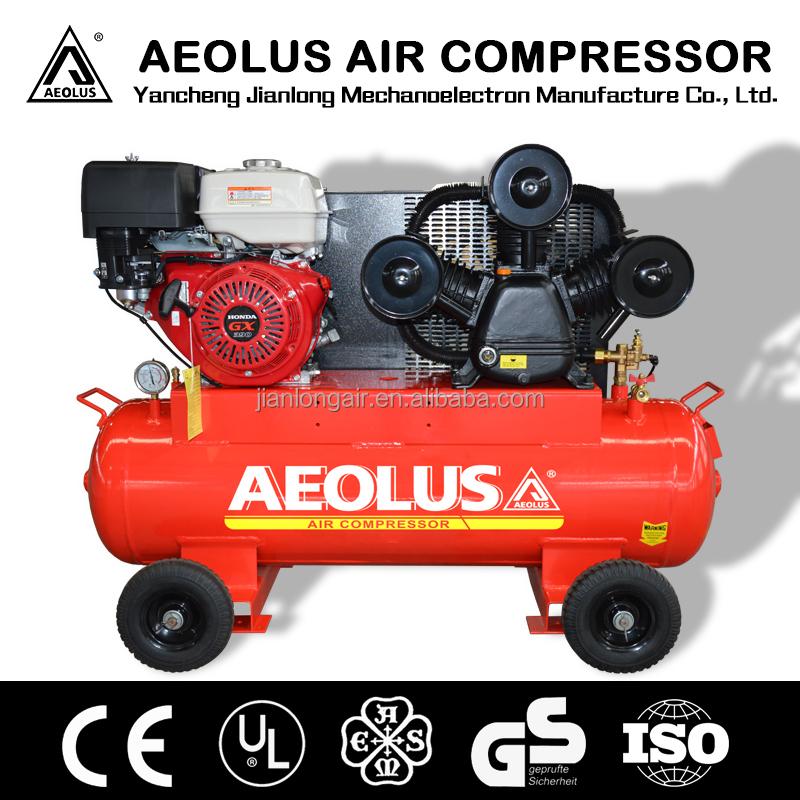 Honda motor reciprocating piston air compressor with ce for Honda air compressor motor parts