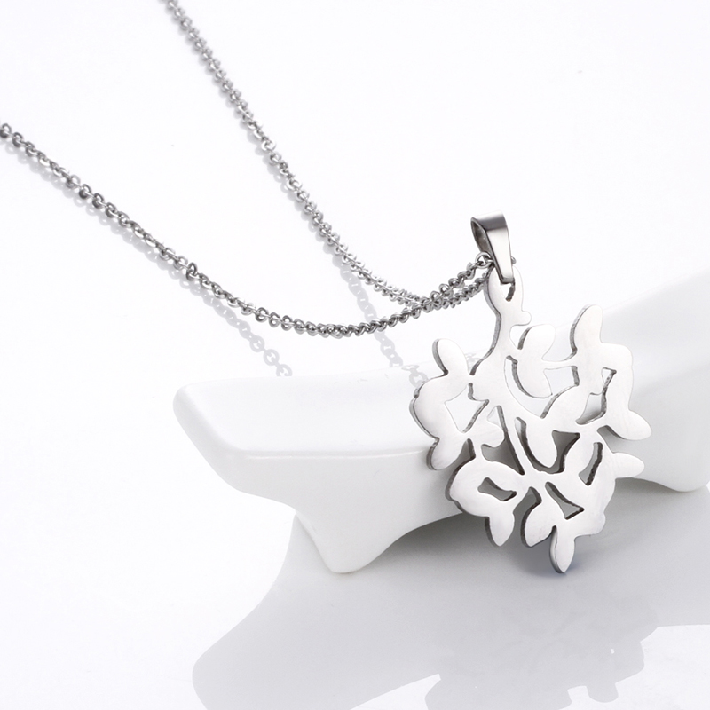 High-end fashion fine jewelry necklace beautiful tree necklace <strong>silver</strong> for women