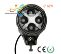 6'' 60w High Low beam Round LED Headlight Auto Parts Jeep Wrangler