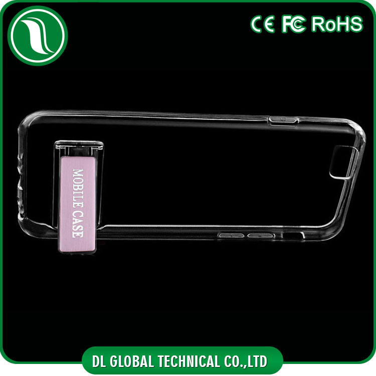 new products transparent tpu mobile cover for iphone 6s case with stent