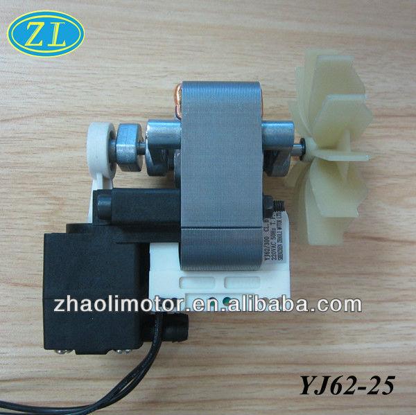 Piston compressor nebulizer motor Shaded pole motor YJ62-25: 120/220V 50/60HZ working air pressure 8-11psi