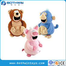 Novelty Laughing animated electronic plush toys