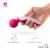 Hot selling silicone penis sex toy women vibrator rechargeable powerful mini wand massager