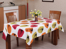 Printed PEVA / PE Heat Resistant Table cloth 100% virgin Polypropylene Tablecloths