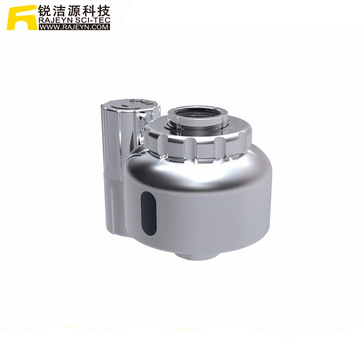Diy Abs Sensor Faucet Spout With Chroming,Double Sensors Tap - Buy ...