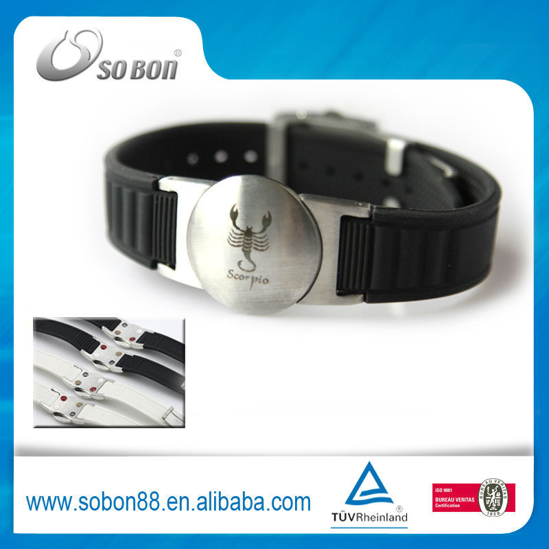 12 Star sign logo infinity bracelet charms trendy bracelet 2014