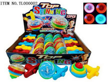 2014 new design light spin top toy