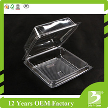 Disposable Clear Plastic Fruit Box Tomato Clamshell Packaging