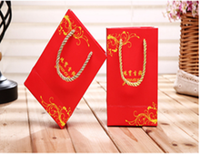 Custom printing glossy laminated candy paper bags packing