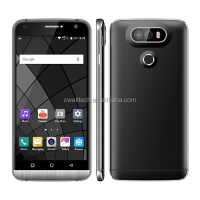 5.5'MTK6580 Quad Core Smartphone Android 5.1 Lollipop Double Cameras Metalframe cheap Android Smartphone Mobile