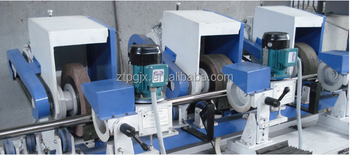 Tube grinding machine for stainless steel