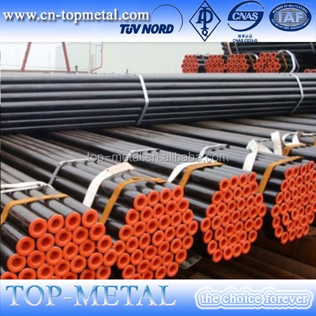 black carbon mild seamless steel pipe