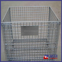 Customed Mesh Wire Pallet for Warehouse Storage Cage