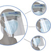 medical anti fog dental clear face shield on CE standard