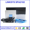 Wholesale Spa2102 linksys+spa voip adapter voip phone adapter with 1 year warranty