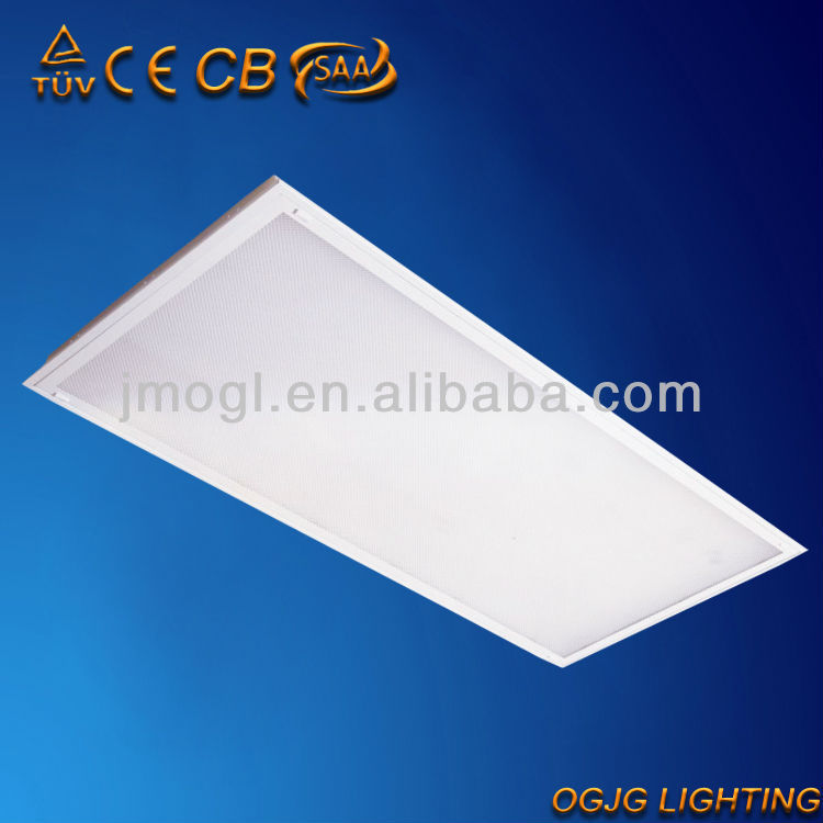 prismatic fluorescent lighting fixture T5 3x28w