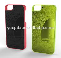 High quality sticked Aluminum sheet PC case for Iphone 5