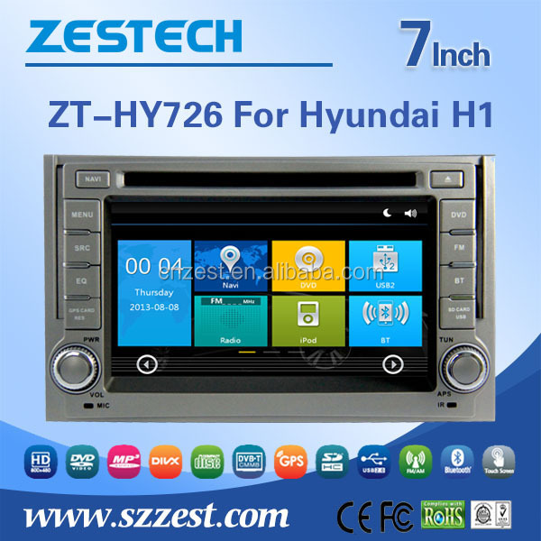 hot selling car stereo for Hyundai H1/Grand Starex/i800/iLoad/iMax/H300 auto dvd multimedia with BT SWC gps player