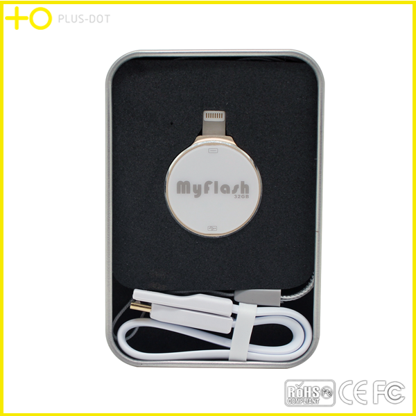 promotional novelty 2016 otg usb 32gb for iphone 5