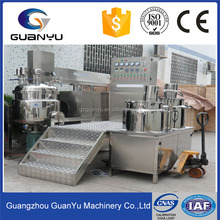 CE approved high shear homogenization vacuum emulsifying whitening moisturizing cream mixing tank