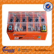 long life price of high quality sealed maintenance free YTX7 12volt 7ah For indonesia market mf GEL motorcycle battery