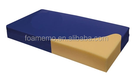 Top level memory foam mattress hospital mattress