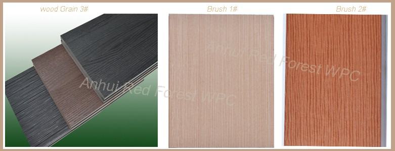 Anti-slip WPC Plastic Wood Deck Flooring Price