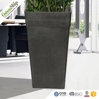 GreenShip Durable And 20 years Lifetime Outdoor/Indoor Decoration Flower Pot With Wholesale Price