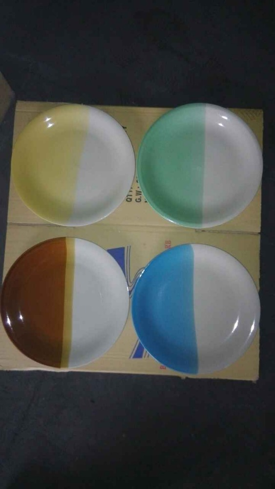 Best selling two tone color glaze ceramic stoneware dinner set