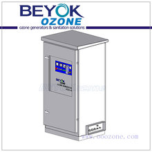 GQO-S40 Commercial Ozone Generator High Ozone Output for Water and Air Sanitation