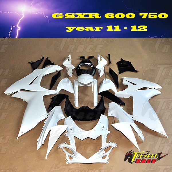 No painted Fairing kit for SUZUKI GSXR600 GSXR750 <strong>K11</strong> year 2011 2012 11 12