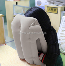 2017 Hot Sale Inflatable neck Travel Sleeping Pillow Headrest Chin Support Cushions Nap Pillow