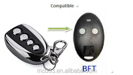 remote handset compatible with BFT Mitto 2 , rf transmitter and emitter